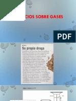 Ejercicios sobre gases