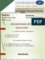 L'histoire du droit comparé francophone et anglo-saxon et dans l'espace africain (1)