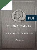 Susmel, E. & E. (Eds.) - Opera Omnia Di Benito Mussolini. Vol. II [Ocr][FS][1951]