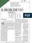 """""""Il Risorgimento non è un mito"""" - di Alberto Mario Banti - la Repubblica 16-11-10"""