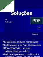 soluções, coeficiente de solubilidade
