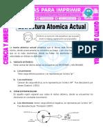 Ficha Estructura Atomica Actual Para Quinto de Primaria