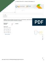 Pre Tarea - Evaluación de Saberes Previos - Cuestionario de evaluación (página 1 de 2)