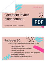 Comment inviter efficacement