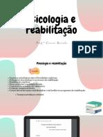 Psicologia e reabilitação