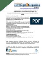 2014 - AVALIAÇÃO DA PERSONALIDADE DA MARCA