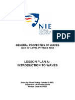Lesson Plan - General Properties of Waves