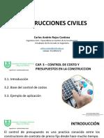 CAP.3 CONTROL DE COSTOS Y PRESUPUESTO EN LA CONSTRUCCION