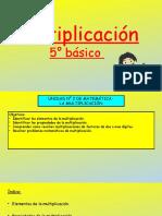 5°-BÁSICO- PPT-PROPIEDADES DE LA MULTIPLICACION