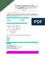Taller 4 2021 Química orgánica