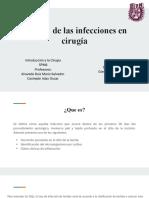 Manejo de las infecciones en cirugía_Uso de sondas drenajes y catéteres