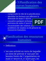 Planification Des Rh