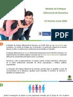 MODELO ENFOQUE DIFERENCIAL DE DERECHOS E INCLUSION