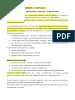 RESUMEN LECTURAS DE TEORIAS DE LA PERSONALIDAD I.
