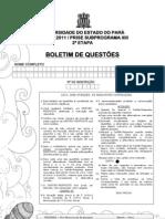 Prova Prosel 2011 2ª etapa - Prise subprograma XIII