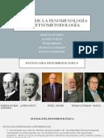 Tema4.de La Fenomenologia a La Etnometodologia