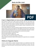 Manto de São José