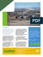 Derecho a la Vivienda en el Perú