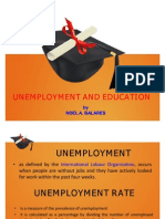 Unemployment and Education Philippine Setting