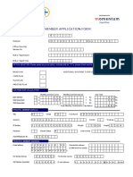 Member Application form - New Plan