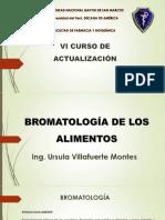 Bromatología de Los Alimentos 2021