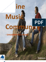 Online Music Community - Untainted Case Study