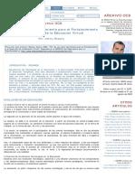 TIC_ Su uso como Herramienta para el Fortalecimiento y el Desarrollo de la Educación Virtual - Archivo de artículos del Observatorio para la CiberSociedad