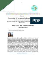 Programa Economías de Los Países Latinoamericanos 1º 2019 Final