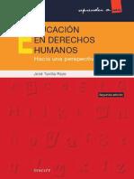 Educación en Derechos Humanos Hacia Una Perspectiva Global (2a Ed.) - José TUVILLA