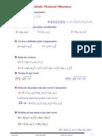 Matemática - Geometria - Cálculo Vetorial