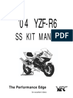'04 R6 Factory Race Kit Manual