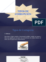 TIPOS DE CORRUPCIÓN-LUIS