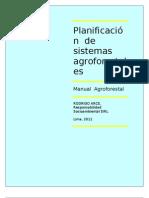 Planificación  de sistemas agroforestales