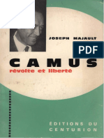 Joseph Majault - Camus _ Révolte Et Liberté