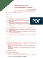 Business syllabus notes (marketing)