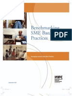 Benchmarking SME Banking Practices