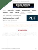 Los Dos Caminos (Mateo 7-13-14) - Mundo Bíblico_ El Estudio de Su Palabra