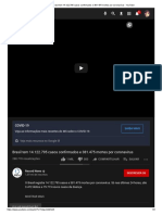 Brasil tem 14.122.795 casos confirmados e 381.475 mortes por coronavírus - YouTube