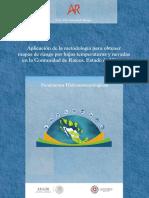 Aplicacion de La Metodologia Para Obtener Mapas de Riesgo Por Bajas Temperaturas