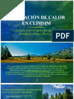 SIMULACIÓN DE CALOR EN CLIMSIM