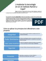 Proyecto instituto Ramón y Cajal