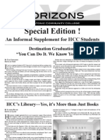 Horizons Special Supplement Spring 11