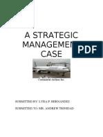 A STRATEGIC         MANAGEMENT                  CASE