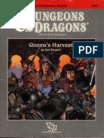 AD&D B12 9261 Queen's Harvest