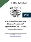 IB APPLICATION 2011-2012 Modified Version - Due April 15