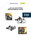 Montacargas Toyota 4 Tons Service Manual 91507B MI04 4.3L GM EPA Fuel Sys