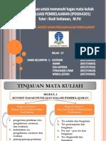 PPT EVALUASI OKE KEL. 1 REVISI OKE- PDF OKE