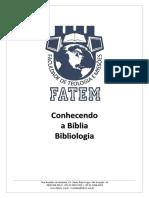 Apostila-Bibliologia