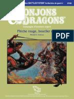 D&D Module X10 Flèche Rouge, Bouclier Noir