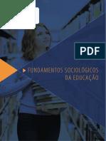Fundamentos Sociologicos da Educação